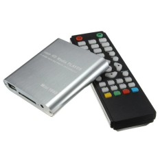CST 1080P Mini HDD Media Player MKV H.264 RMVB Full HD With HOST USB / SD Card Reader Silver