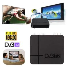 CST K2 Full HD 1080 DVB-T2 Digital Terrestial Receiver set-top Box dengan Multimedia Player H, 264/MPEG - 2/4 kompatibel dengan DVB-T untuk TV HDTV