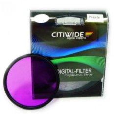 CW 55mm Purple Color Effect Filter