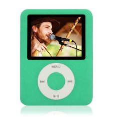 "Cyber 8GB Slim MP3 MP4 Player 1.8"" LCD Screen FM Radio Video Games Movies W78 (Green)"