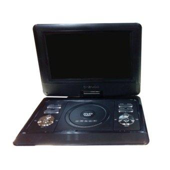 "Daewoo Dvd Portable Daewoo 7,8"" - Hitam"