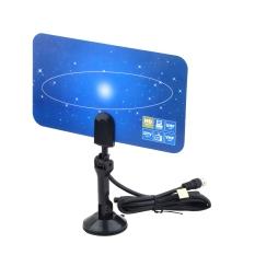 OH Digital Indoor TV Antenna HDTV DTV Box Ready HD VHF UHF Flat Design High Gain
