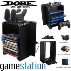 DOBE PS4 Multifunctional Storage Stand Kit Plus Charging Dock