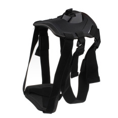 Dog Harness Strap + Head Chest Strap Set Accessorie For GoPro Hero 4 3.3 (Black)