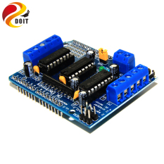 DOIT L293D Motor Drive Shield For Arduino Duemilanove Mega / UNO Expansion Board Motor Plate Motor Control Shield