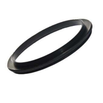 Double Male Coupling Ring Adapter (Black)