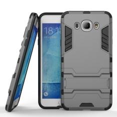 Dual Layer Armor Hard Slim Hybrid Kickstand Phone Cover Case for Samsung Galaxy J7 2016 / J710 - intl