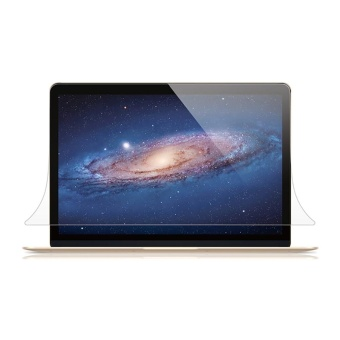 Eachgo High Glossy Apple New Macbook 13 Air Laptop Screen ProtectorGuard Protection Film - intl