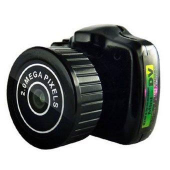 Easybuy Camera Camcorder Video Recorder DVR Spy Hidden Pinhole Web cam Y2000 Mini (Black)