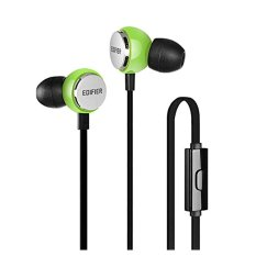Edifier P293 In-ear Headset - Earbud Headphones IEM In Ear Monitor Headphone Cellphone Earphones With Mic And Remote (Candy Green) - Intl