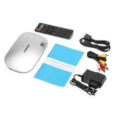 EMISH X810 Smart Android TV Box Android 5.1.1 Rockchip 3368 Octa Core 64bits KODI XBMC UHD 4.2G / 16G Mini PC WiFi & LAN H.265 DLNA Miracast Media Player EU Plug