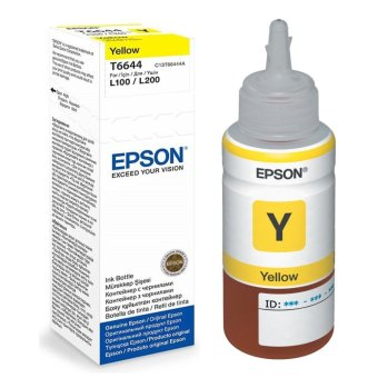 EPSON Tinta Botol Original 70ml T6644 - Yellow