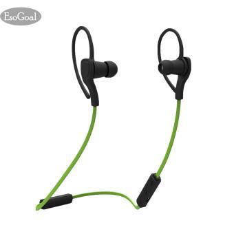 EsoGoal Bluetooth Wireless Headphone Olahraga Workout telinga tunas Gym headset menjalankan earphone Tahan Keringat earbud (