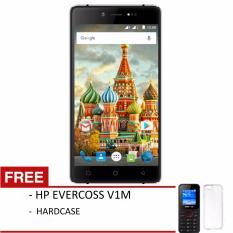 Evercoss A75 Max Winner Y Silver - RAM1GB/ROM 8GB + FREE HARDCASE & HP EVERCOSS V1M