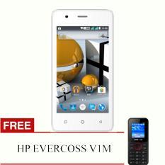 Evercoss Winner T M40 - koneksi 4G TERMURAH SE INDONESIA - RAM 1GB + Free HP Evercoss V1M