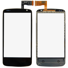 Fancytoy Black Front Touch Screen Digitizer Glass Lens Parts For HTC Desire 50.506e