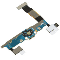 Fancytoy USB Charging Port Connector Tail Plug Flex Cable For Samsung Note 4 N910F - Intl