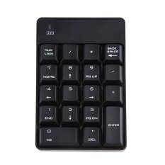 Fang Fang 2.4GHz Wireless USB Numeric Keypad Numpad Number 18 Keys Pad Laptop PC Notebook