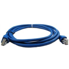 Fang Fang 2m Cat5e Ethernet Cable For XBOX 360 PS3 Router (Blue)