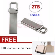 Flash Drive 2TB pen drive usb 2.0 Real Capacity Pen Drive Memory Stick U Disk+OTG conversion head - intl