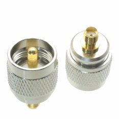 Fliegend 1pce UHF Male PL259 PL-259 Plug To SMA Female Jack RF Adapter Connector (Intl)
