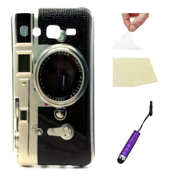 For Samsung Galaxy J5 Case Moonmini Ultra-thin Slim Soft TPU Case -