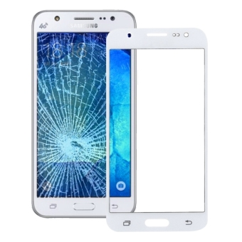 For Samsung Galaxy J5 / J500 Front Screen Outer Glass Lens(White)