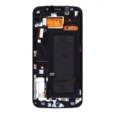 For Samsung Galaxy S6 Edge G925V G925P Lcd With Frame Screen Touch Screen Touch Lens Digitizer Replacement Parts White - Intl
