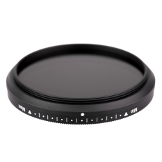 Fotga 52mm Slim Fader Variable ND Filter Adjustable Neutral Density ND2 To ND400 (Intl)