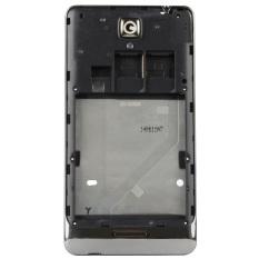 Front Rear Frame Holder Bottom Front Bezel Replacement For LenovoS8(Black)
