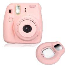 Fujifilm Fuji Instax Mini 8 Instant Photo Film Camera (Pink) + Close-up Lens