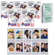 Fujifilm Instax Mini Airmail Instant 50 Film For Fuji 7.8 2.50s 7.90 / Polaroid 300 Instant Camera / Share SP-1