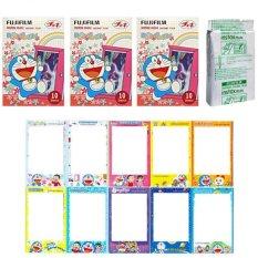 Fujifilm Instax Mini Doraemon Door Flower Instant 30 Film For Fuji 7.8 2.50.70 90 / Polaroid 300 Instant Camera / Share SP-1 Printer (Intl)