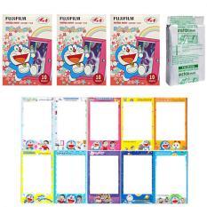 Fujifilm Instax Mini Doraemon Flower Instant 30 Film For Fuji 7.8 2.50.70 90 / Polaroid 300 Instant Camera / Share SP-1