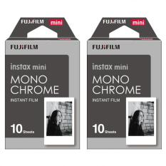 Fujifilm Instax Mini Instant 20 Film Monochrome For 7.8 2.50.70 90 / Polaroid 300 / SHARE SP-1,2 & Sofort
