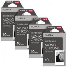 Fujifilm Instax Mini Instant 40 Film Monochrome For 7.8 2.50.70 90 / Polaroid 300 / SHARE SP-1,2 & Sofort