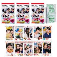 Fujifilm Instax Mini Mickey Mouse Instant 30 Film For Fuji 7.8 25 50.70 90 / Polaroid 300 Instant Camera / Share SP-1 Printer (Intl)