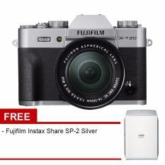 Fujifilm X-T20 Kit 16-50mm Silver + Fujifilm Instax Share SP-2 Silver