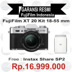 Fujifilm X-T20 Kit 18-55 mm Silver Mirrorless
