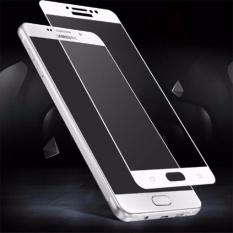Full Cover Tempered Glass untuk Samsung Galaxy J7 Pro - Antigores Kaca Screenguard Anti Gores Kaca - Putih