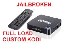 Full Custom Load EM95X Amlogic S905.2GB / 16GB 4K Android 6.0 TV Box Quad Core 64bit KODI16.1 PC WiFi DLNA Airplay Miracast Bluetooth
