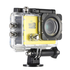 """Full HD Wifi Action Sports Camera DV Cam 2.0"""" LCD 12MP 1080P30FPS4X Zoom 140 Degree Wide Lens Waterproof for Car DVR FPV PCCameraDiving Bicycle Outdoor Activity"""