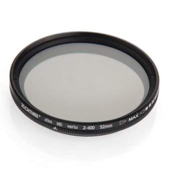 Generic Slim 52mm Variable ND Filter Neutral Density Adjustable For Canon ND118