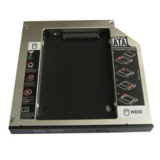 Generic Universal Samsung Laptop 2nd Hdd Hard Drive Caddy Adapter 12.7mm Sata To Sata