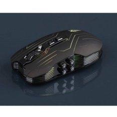 Ghost Shark Aokdis LED Optical Wireless Gaming Mouse 9.3200 DPI - Black