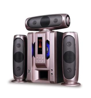 GMC 885 A Multimedia Speaker Aktif - Bluetooth Connection - Gold