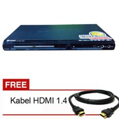 GMC BM088A DVD Player HDMI 5.1 - Hitam