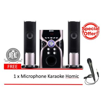 GMC Multimedia Speaker 887G ( Bluetooth & Karaoke ) 2.1ch