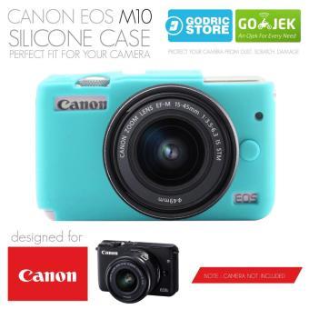 Godric Silicone Canon EOS M10 Silikon Case   Sarung Silicon Kamera  Mirrorless ba2836bb51