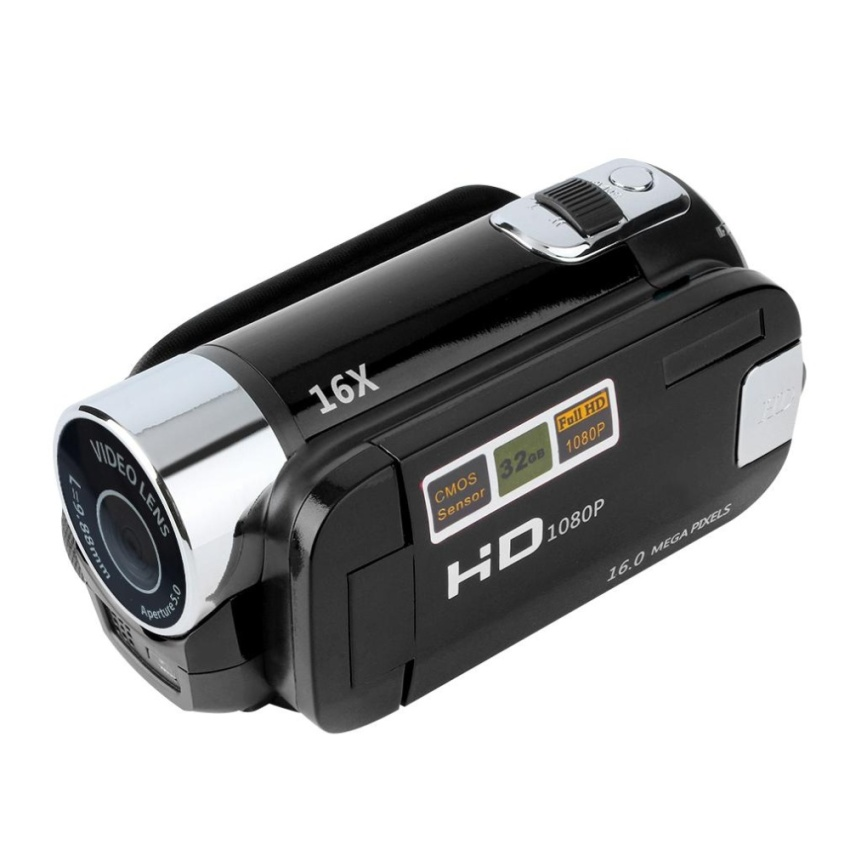 GOOD 2.7'' TFT LCD Full HD 720P Digital Video Camcorder 16x Zoom DV Camera - intl